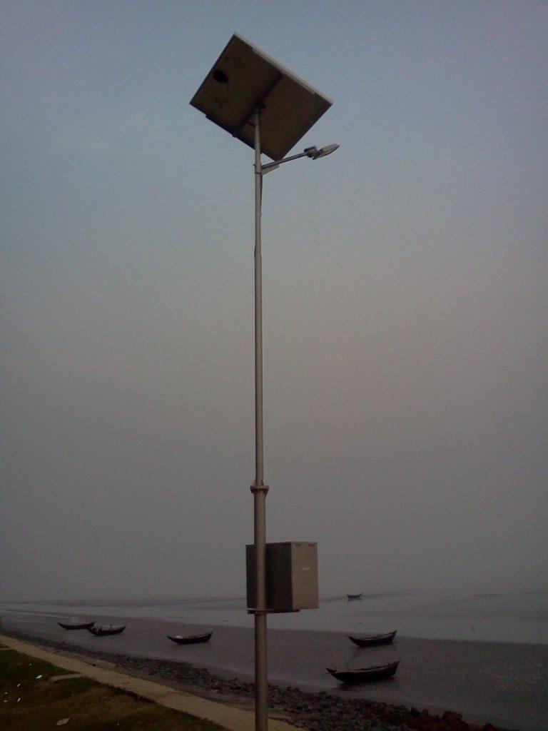 24W Solar Street Light st Khejuri, Paschim Medinipur, W.B.