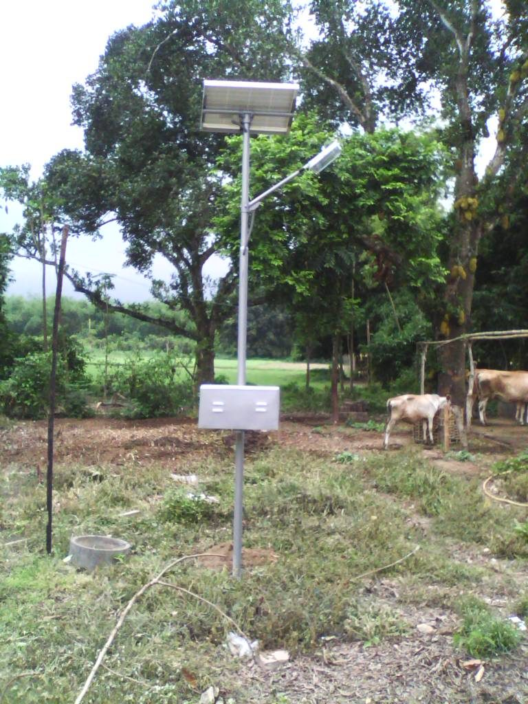 60 pcs Solar Street Light Installation, Bankura, W.B.