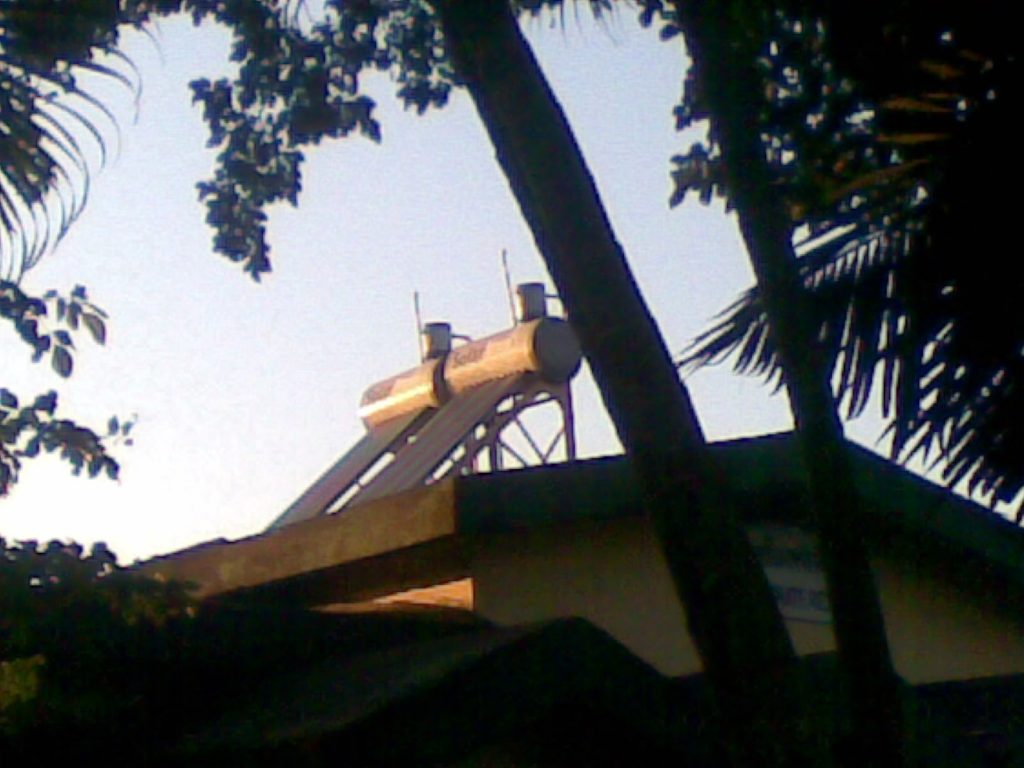 600 ltrs Solar Water Heater Installation at Guest House of Indian Railway, Alipurduar, W.B.