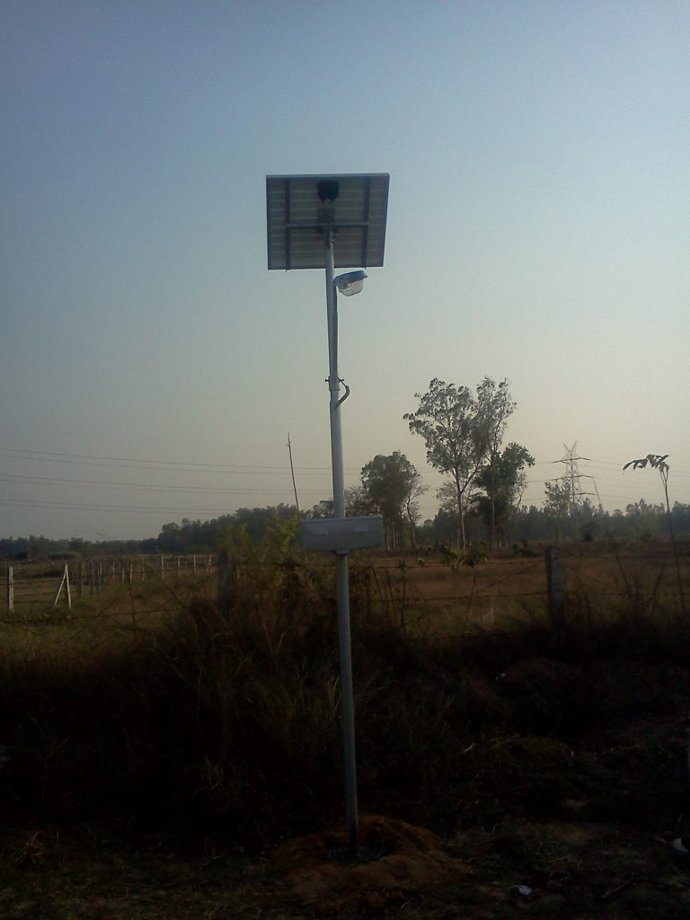 Solar street Light, Chattisgarh