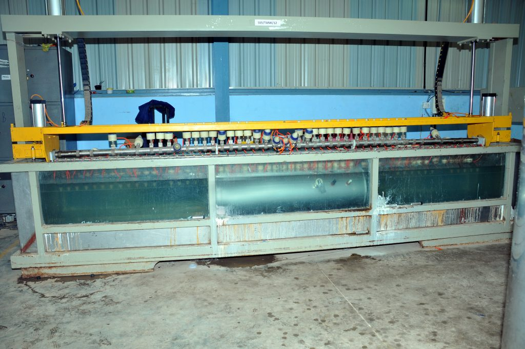 Tank Leakage Testing Facility at Factory